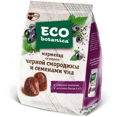 Мармелад Eco-botanica со вкусом черной смородины и семенами Чиа