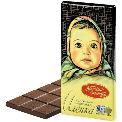Шоколад Красный Октябрь Аленка