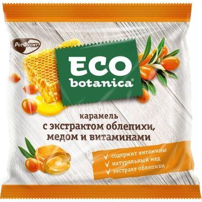 Карамель Eco-botanica с экстрактом облепихи, медом и витаминами