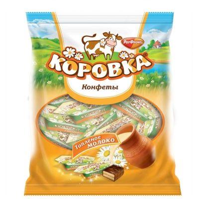 Конфеты Рот Фронт Коровка вкус топленое молоко