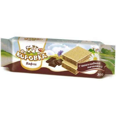 Вафли Рот Фронт Коровка с шоколадной начинкой