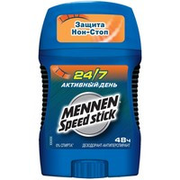 Дезодорант-антиперспирант Mennen Speed Stick Стик 24/7 Активный день