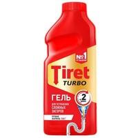 Гель Tiret Турбо для устранения засоров в трубах