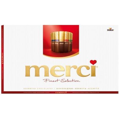 Набор шоколадных конфет 'Merci' Ассорти