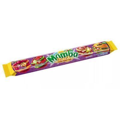 Жевательные конфеты 'Mamba' 2в1