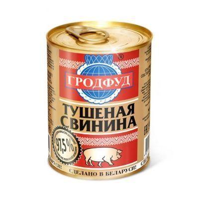 Тушенка Гродфуд Свинина ГОСТ ж\б