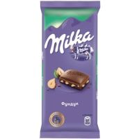 Шоколад Милка дробленый фундук