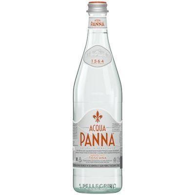 Вода минеральная Acqua Panna негазированная стекло