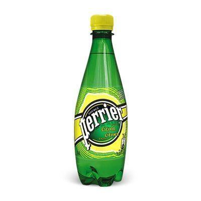 Вода минеральная Perrier газированная со вкусом лимона стекло