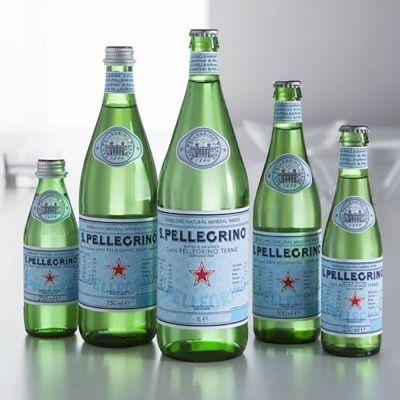 Вода минеральная S.Pellegrino газированная пэт