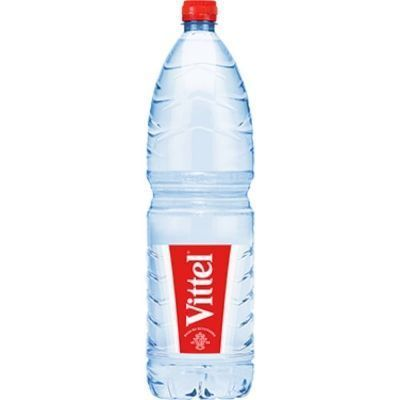 Вода минеральная Vittel негазированная пэт