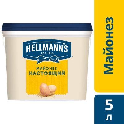 Майонез Hellmann`s настоящий 78%