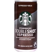 Напиток кофейный молочный стерилизованный Starbucks Doubleshot Espresso