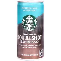 Напиток кофейный молочный стерилизованный Starbucks Doubleshot Espresso без добавления сахара