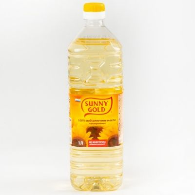 Масло подсолнечное Sunny Gold рафинированное