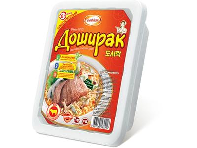Лапша быстрого приготовления 'Доширак' говядина