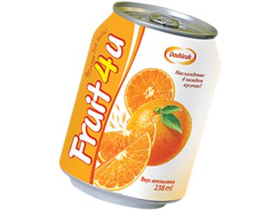 Напиток 'Fruit4U' апельсин