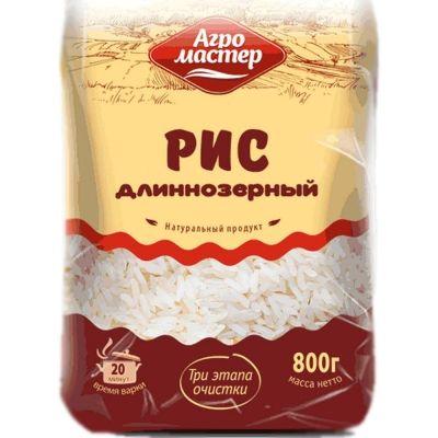 Рис длиннозерный шлифованный Агромастер