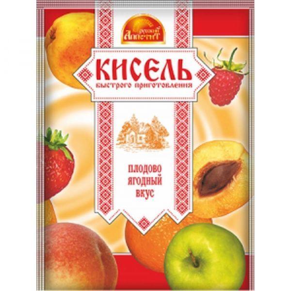 Кисель Русский аппетит Плодово-ягодный вкус пакет
