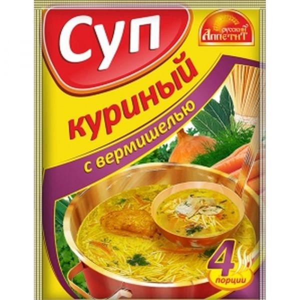 Суп Русский аппетит Куриный с вермишелью