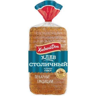 Хлеб Хлебный Дом Столичный формовой нарезка