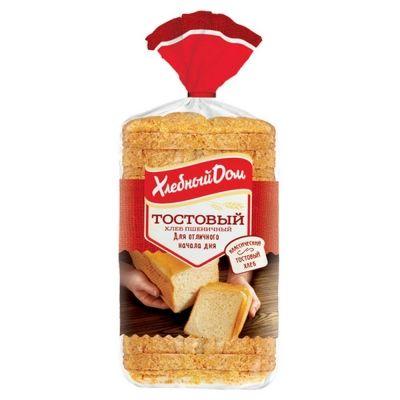 Хлеб Хлебный Дом Тостовый нарезной