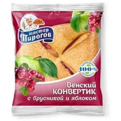 Конвертик Коломенское с фруктовой начинкой Брусника-яблоко