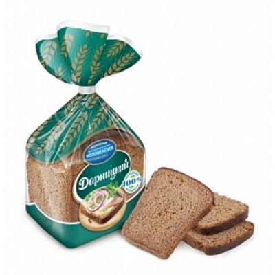 Хлеб Коломенское Дарницкий половинка в нарезке