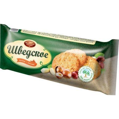 Печенье Волжский пекарь Шведское с орехом