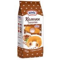 Пирожные Бисквитные Kovis Колечки с кремом Вареная сгущенка