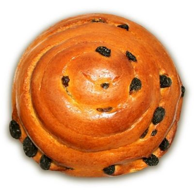 Булочка Нижегородский хлеб Устрица с изюмом