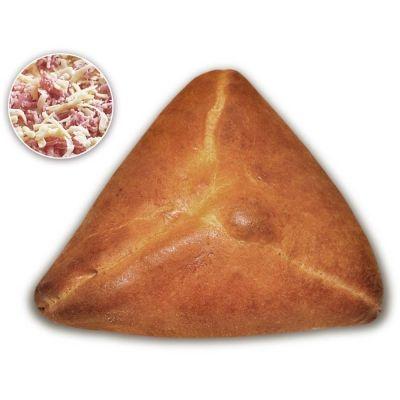 Пирожок домашний Нижегородский хлеб с ветчиной и сыром