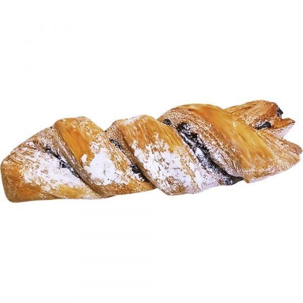 Слойка Нижегородский хлеб Косичка с каплями со вкусом шоколада
