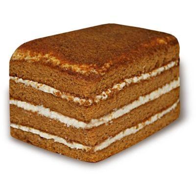Торт Нижегородский хлеб Медовый со сгущенным молоком
