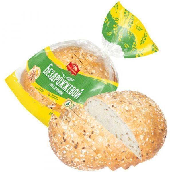 Хлеб Черемушки Бездрожжевой зерновой уп.