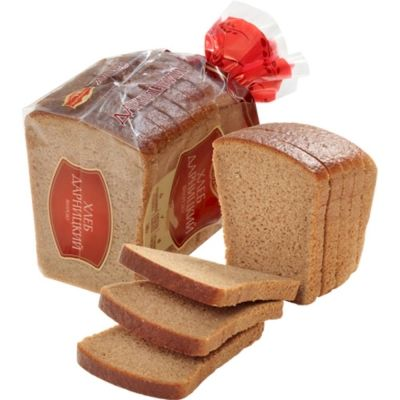 Хлеб Черемушки Дарницкий половинка нарезка