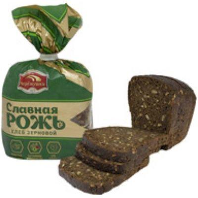 Хлеб Черемушки Славная рожь зерновой пол. в нарезке уп.