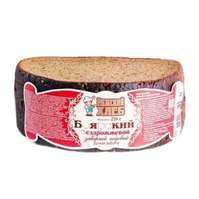 Хлеб Рижский хлеб Боярский нарезка