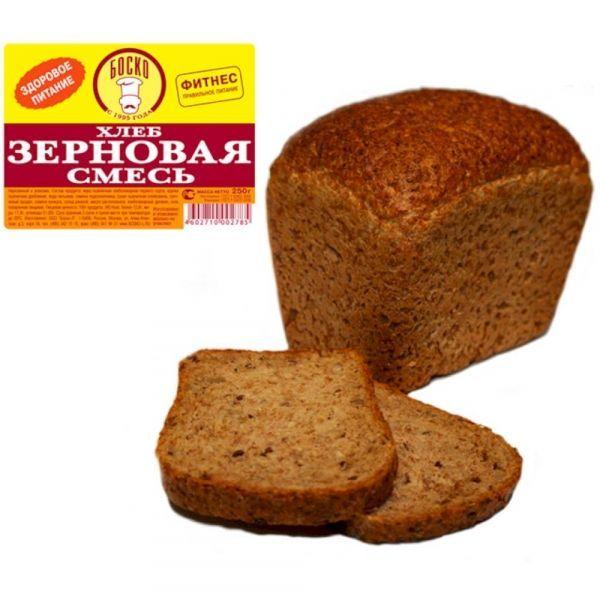 Хлеб Боско-Л зерновая смесь