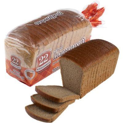 Хлеб Хлебозавод №22 Дарницкий нарезка уп