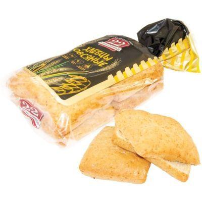 Хлебцы Хлебозавод №22 Овсяные нарезка