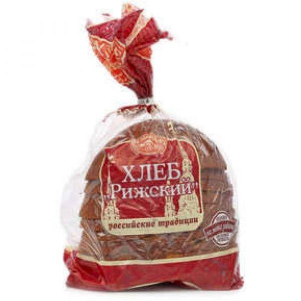 Хлеб Щелковохлеб Рижский заварной нарезка