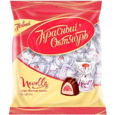 Конфеты Красный Октябрь Новелла желейные вкус лесных ягод