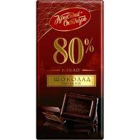 Шоколад Красный Октябрь 80% какао