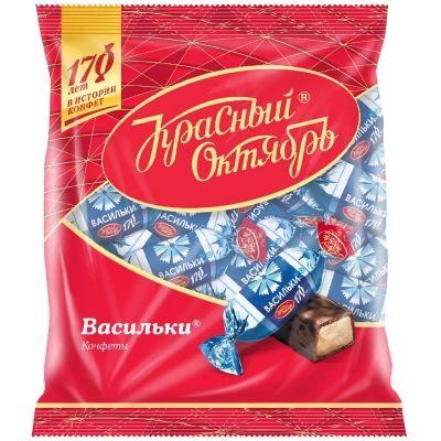 Конфеты Красный Октябрь Васильки