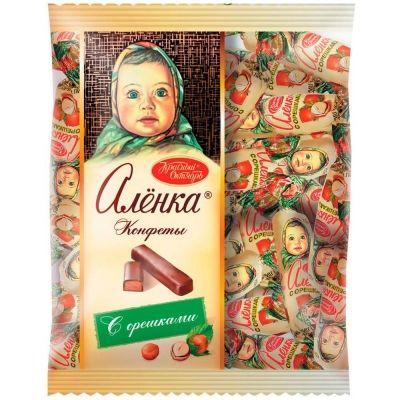 Конфеты Красный Октябрь Аленка с орешками