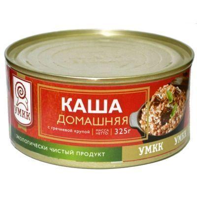 Каша с мясом УМКК домашняя с гречневой крупой