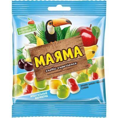 Жевательный мармелад Маяма ассорти вкусов
