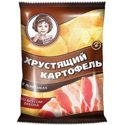 Чипсы Хрустящий картофель Бекон