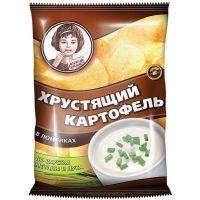 Чипсы Хрустящий картофель сметана и лук
